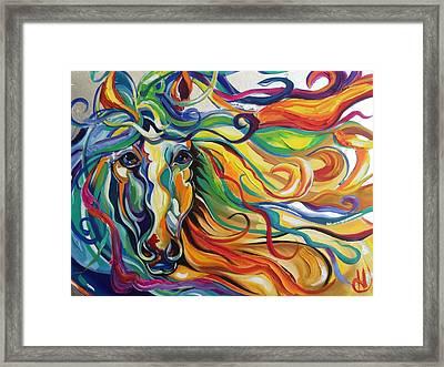 Glyde  Framed Print