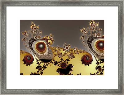 Glynns And Spirals No. 3 Framed Print by Mark Eggleston