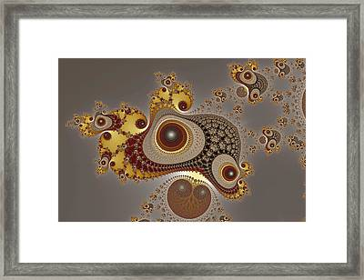 Glynns And Spirals No. 4 Framed Print by Mark Eggleston
