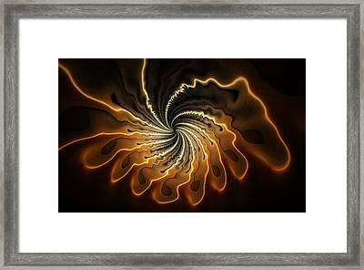 Gnarly Mushroom Framed Print