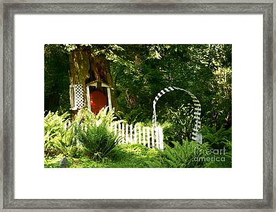 Gnome's House Framed Print by Robert Nankervis