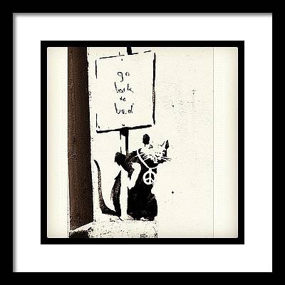 Banksy Framed Prints