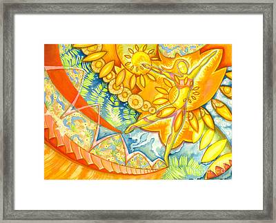 Go Confidently In The Direction Of Your Dreams Framed Print by Mark Stankiewicz