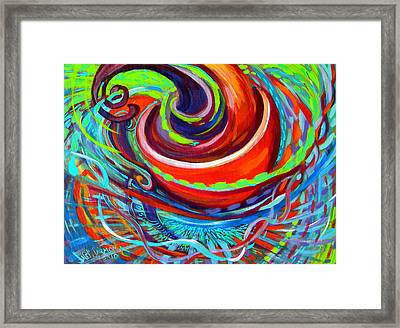 Go Cup Framed Print by Jeanette Jarmon