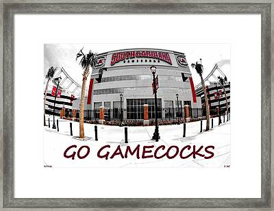 Framed Print featuring the photograph Go Gamecocks by Lisa Wooten