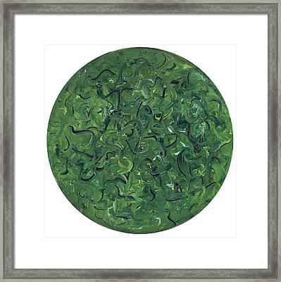 Go Green Framed Print by Patty Vicknair
