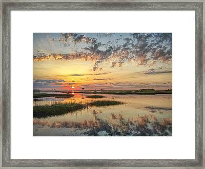 Sunrise Sunset Photo Art - Go In Grace Framed Print