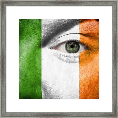Framed Print featuring the photograph Go Ireland by Semmick Photo