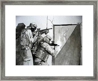 Go Jake Framed Print by Ray Agius