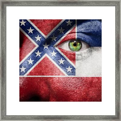 Go Mississippi Framed Print