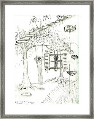 Go Outside And Play Framed Print by Robert Wolverton Jr