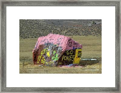 Go Pokes Framed Print by Jon Burch Photography