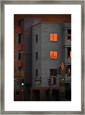 Go Framed Print by Skip Hunt