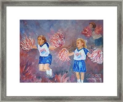 Go Team Framed Print by Dorothy Weichenthal