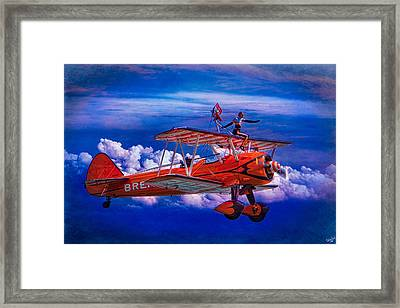Go That Way Said The Navigator Framed Print by Chris Lord
