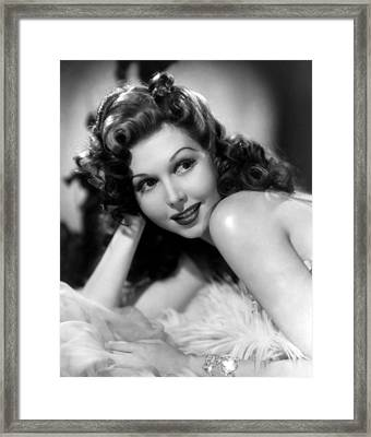 Go West Young Lady, Ann Miller, 1941 Framed Print