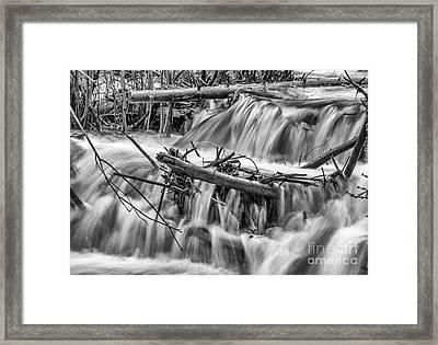 I Will Send Streams Framed Print by Dennis Wagner