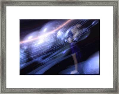 Go With The Flow Framed Print by Gun Legler