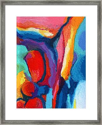 Go With The Flow Framed Print by Stephen Anderson