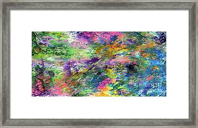 Go With The Flow Framed Print by Jo Ann Bossems