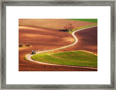 Go Work! Framed Print by Fproject - Przemyslaw Kruk