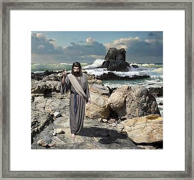 Go Your Faith Has Healed You Framed Print