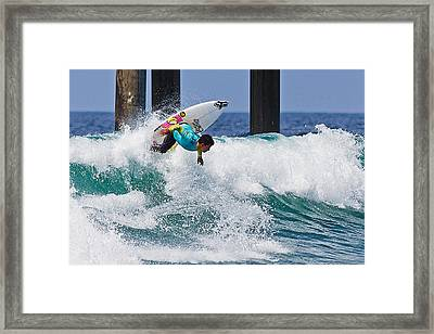 Framed Print featuring the photograph Go Your Own Way by Ron Dubin