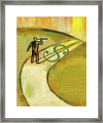 Goal Framed Print
