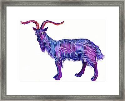Goat Capricorn Framed Print