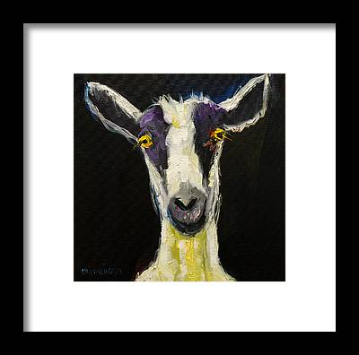 Goat Framed Prints