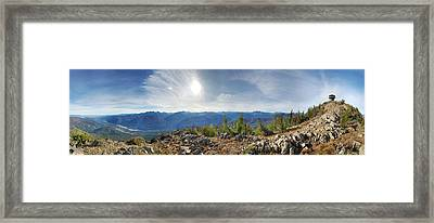 Goat Peak Framed Print