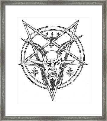Goatlord Logo Framed Print