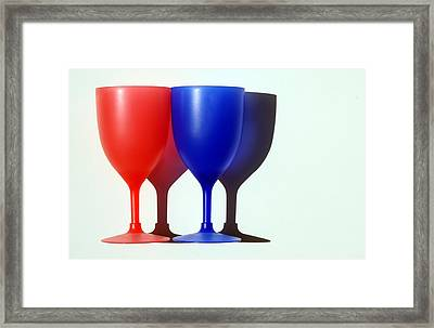 Goblets Framed Print