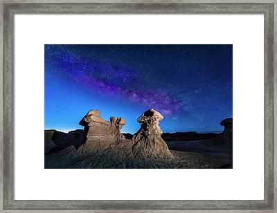 Goblin Milky Way  Framed Print