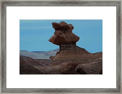 Goblin Valley Framed Print by Jerry LoFaro