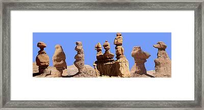 Goblins From Utah Framed Print