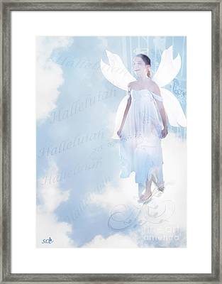 God Be Praised Framed Print