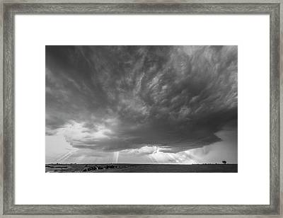 God Beams Framed Print