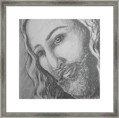 God Became Man Framed Print
