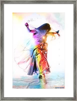 God Colors Framed Print