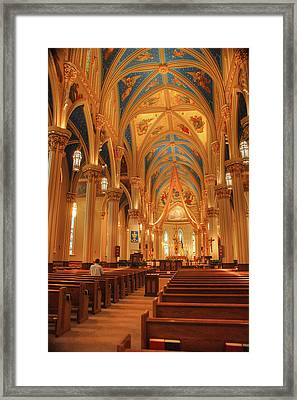 God Do You Hear Me Framed Print