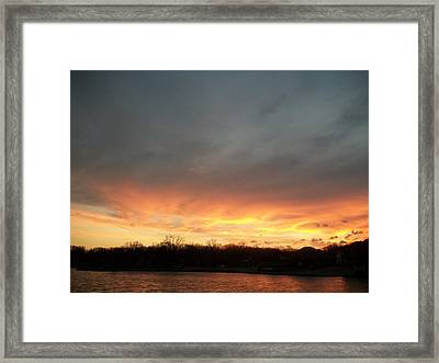 Framed Print featuring the photograph god by Emery Franklin