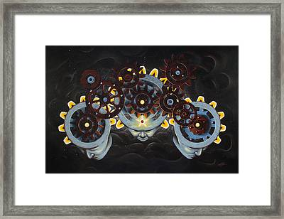 God Gear Framed Print