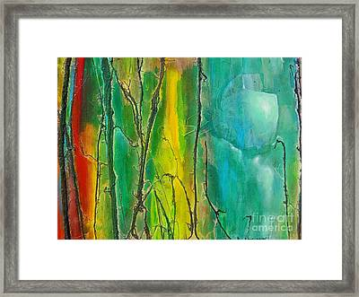 God Has Moved  Into The Neigborhood Framed Print
