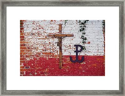 God, Honour, Fatherland Framed Print