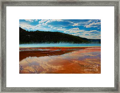 Framed Print featuring the photograph God Is by Robert Pearson