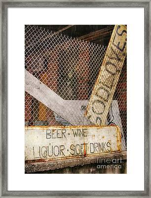 God Loves Beer  Framed Print by Steven Digman