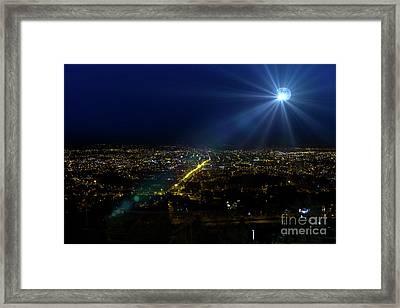God Loves Cuenca Framed Print by Al Bourassa