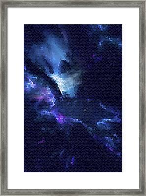 God Of The Stars Framed Print