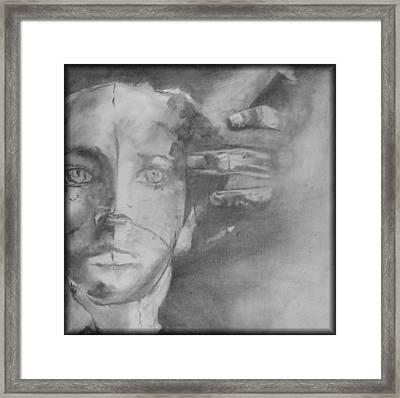 GOD Framed Print by Rebecca Tacosa Gray